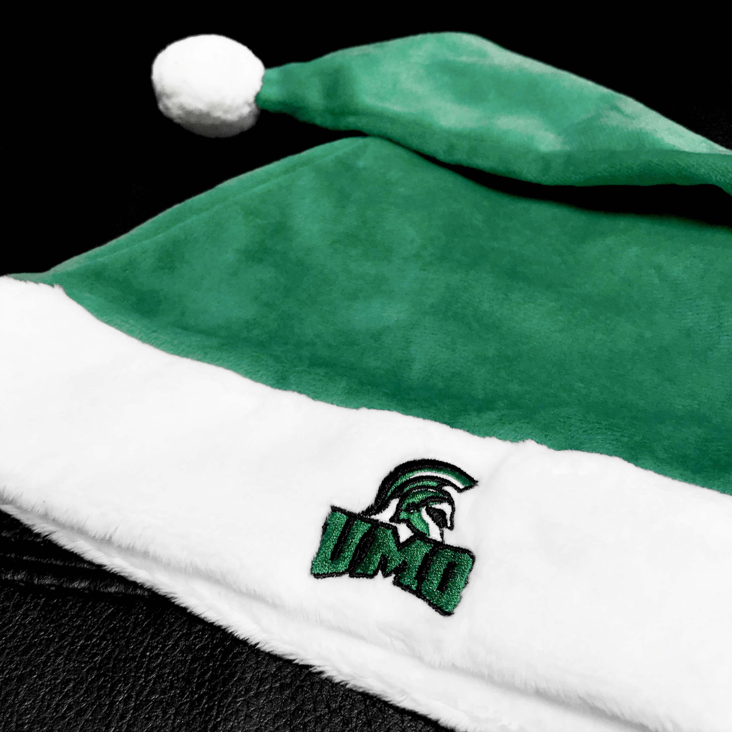 UMO green santa hat.